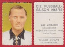 West Germany Max Morlock Nuremburg 8